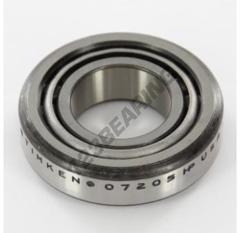 07100S-07205-TIMKEN - 25.4x52x15.01 mm