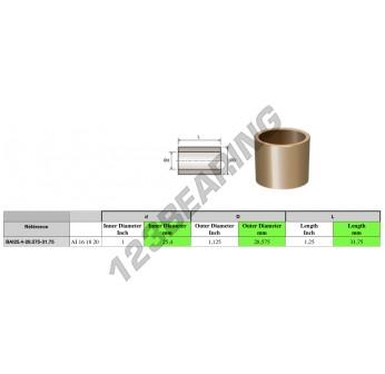 AI161820 - 25.4x28.58x31.75 mm