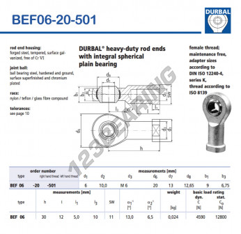 BEF06-20-501-DURBAL