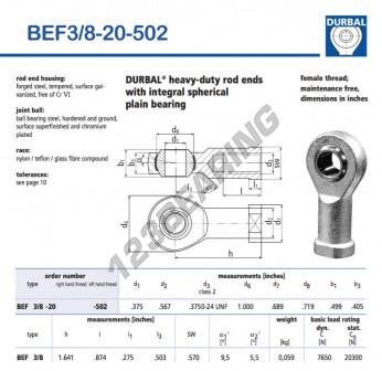 BEF3-8-20-502-DURBAL
