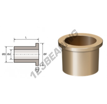BFMF36-45-54-4.5-28 - 36x45x28 mm