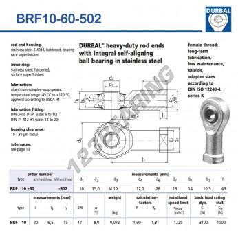 BRF10-60-502-DURBAL
