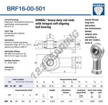 BRF16-00-501-DURBAL