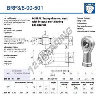 BRF3-8-00-501-DURBAL