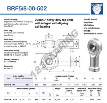 BRF5-8-00-502-DURBAL