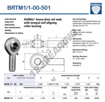 BRTM1-1-00-501-DURBAL