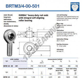 BRTM3-4-00-501-DURBAL