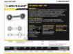 Rótulas SI - DB-SA-158-DUNLOP