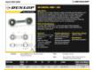 Rótulas SI - DB-SA-175-DUNLOP