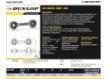 Rótulas SI - DB-SA-205-DUNLOP