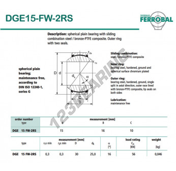 GE15-FW-2RS-DURBAL