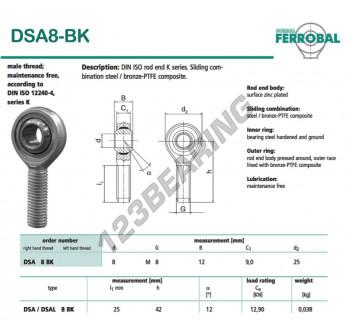 DSA8-BK-DURBAL