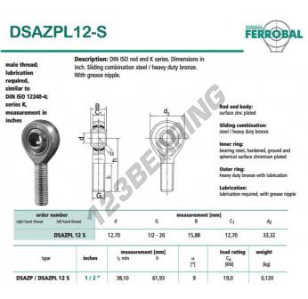 DSAZPL12-S-DURBAL
