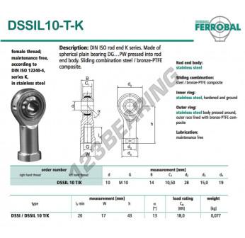 SSIL10-T-K-DURBAL