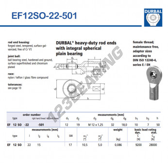 EF12SO-22-501-DURBAL