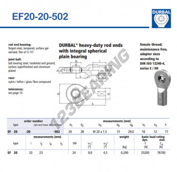 EF20-20-502-DURBAL