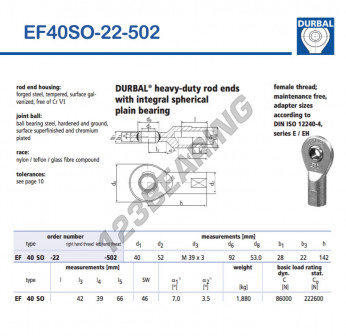 EF40SO-22-502-DURBAL