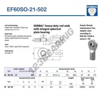 EF60SO-21-502-DURBAL