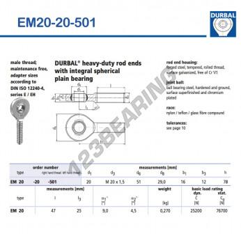 EM20-20-501-DURBAL