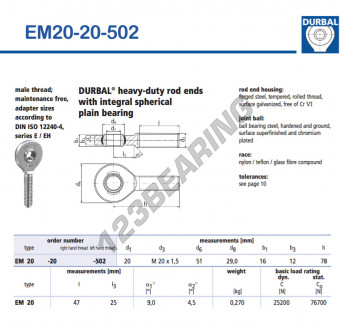 EM20-20-502-DURBAL