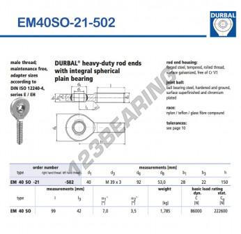 EM40SO-21-502-DURBAL