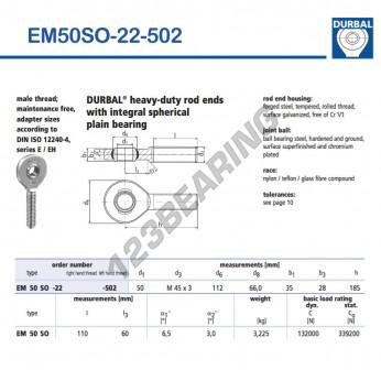 EM50SO-22-502-DURBAL
