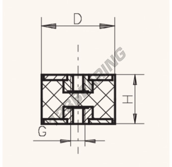 FF1520-5 - M5x15x20 mm