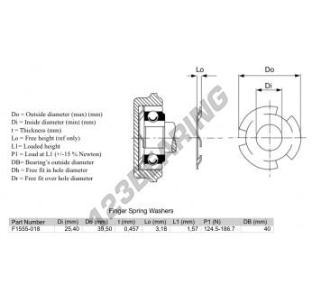 FSW3-39.5-25.4-0.457 - 25.4x39.5x0.46 mm