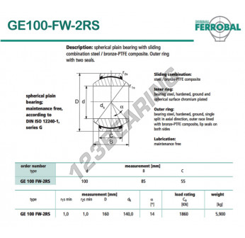 GE100-FW-2RS-DURBAL