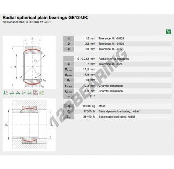 GE12-UK-ELGES - 12x22x10 mm