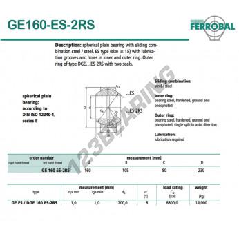 DGE160-ES-2RS-DURBAL