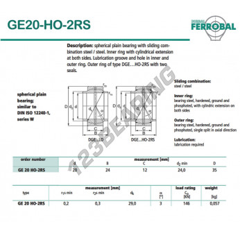 GE20-HO-2RS-DURBAL