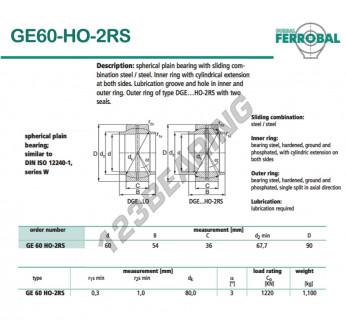 GE60-HO-2RS-DURBAL