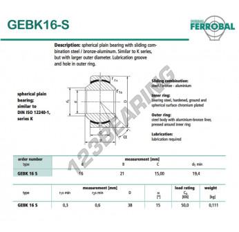GEBK16-S-DURBAL