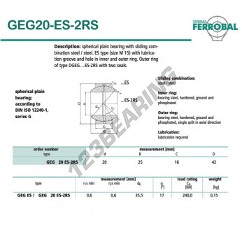 GEG20-ES-2RS-DURBAL