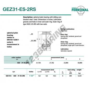 GEZ31-ES-2RS-DURBAL