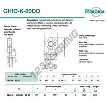 GIHO-K-80DO-DURBAL