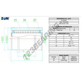 LM13-ZEN - 13x23x32 mm