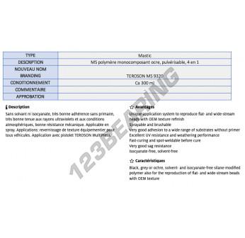 MS-9320-OCHRE-300ML-TEROSON