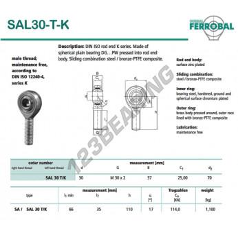 DSAL30-T-K-DURBAL
