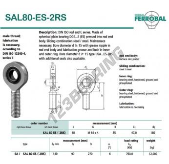 SAL80-ES-2RS-DURBAL