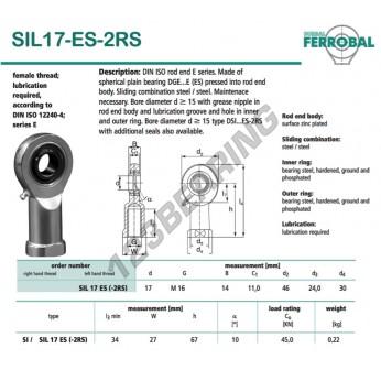 DSIL17-ES-2RS-DURBAL