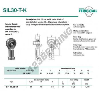 DSIL30-T-K-DURBAL