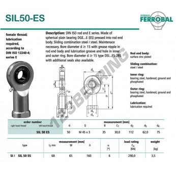 DSIL50-ES-DURBAL