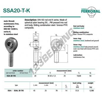 SSA20-T-K-DURBAL